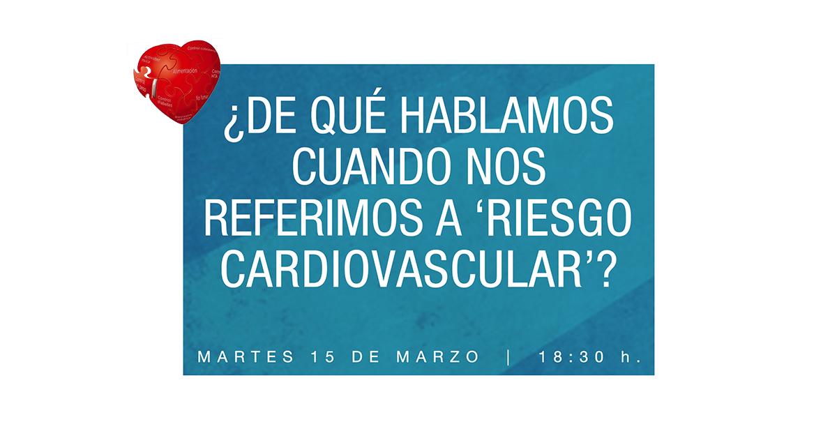 Charla informativa sobre riesgos cardiovasculares centro for Centro de salud ciudad jardin badajoz